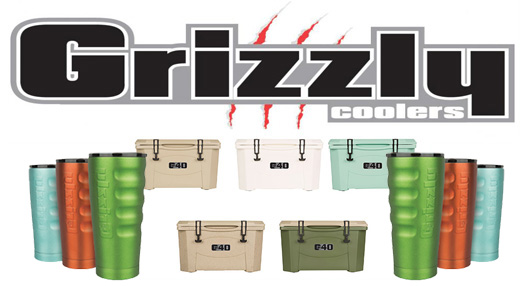 Grizzly Coolers and Cups
